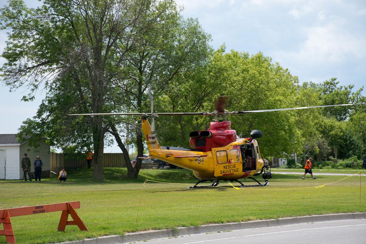 CFB Trenton Rescue Helicopter