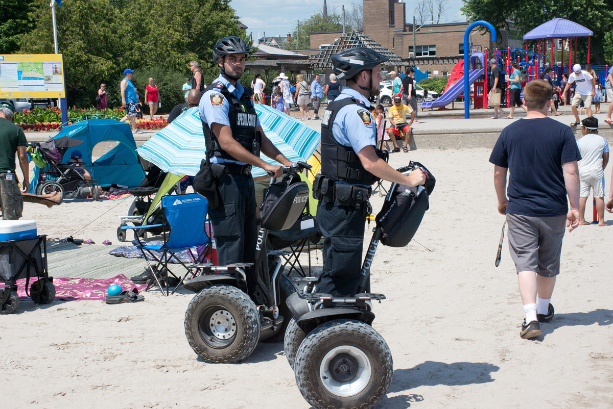 Police on Segways