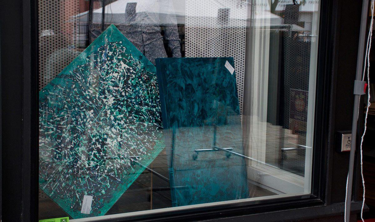 Art Walk window