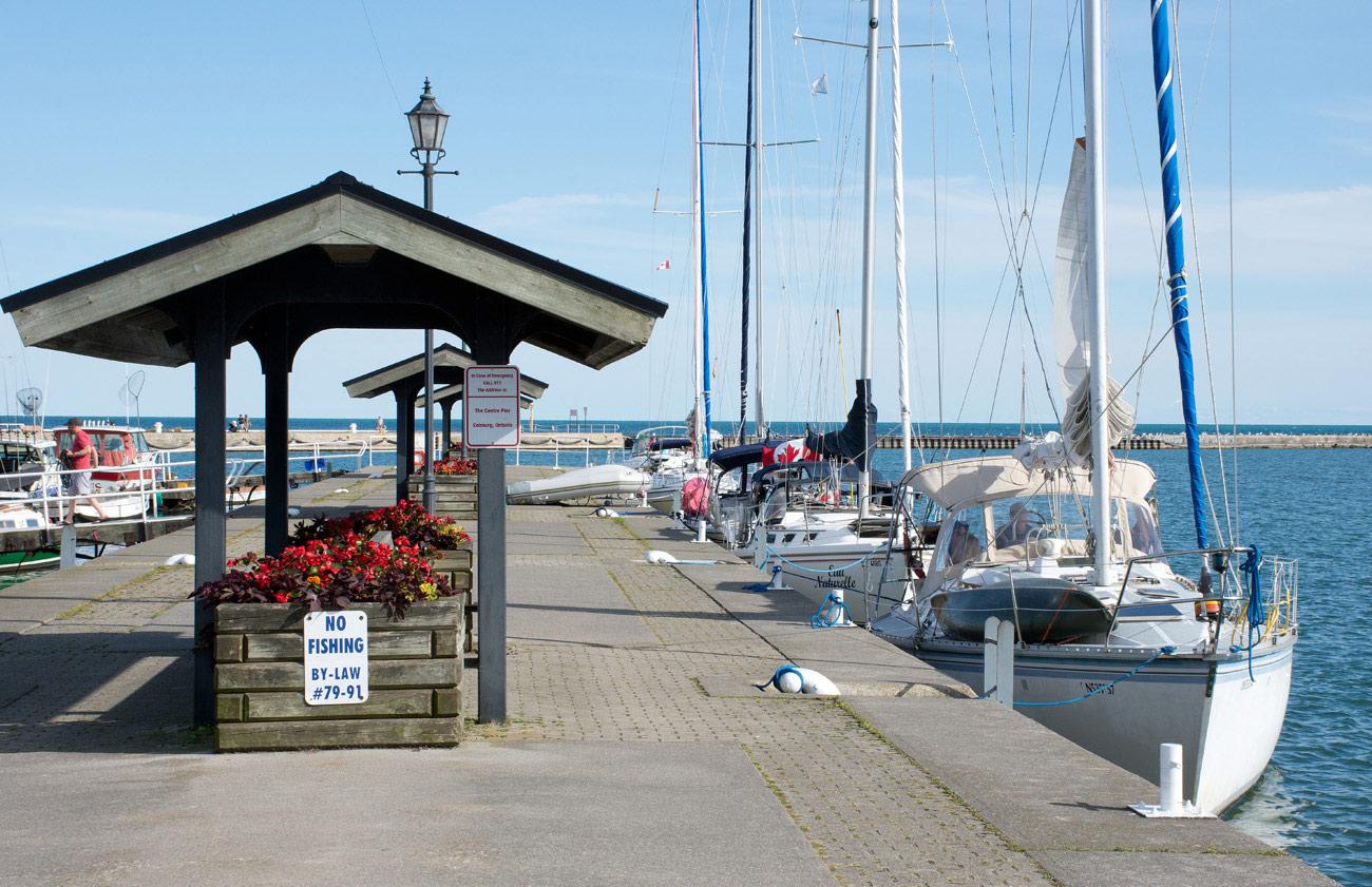 Cobourg Marina - West Pier