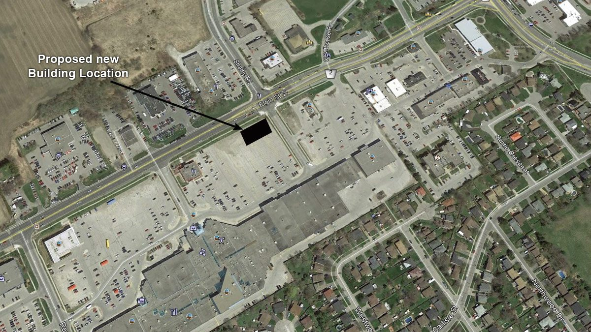 Northumberland Mall Google Earth