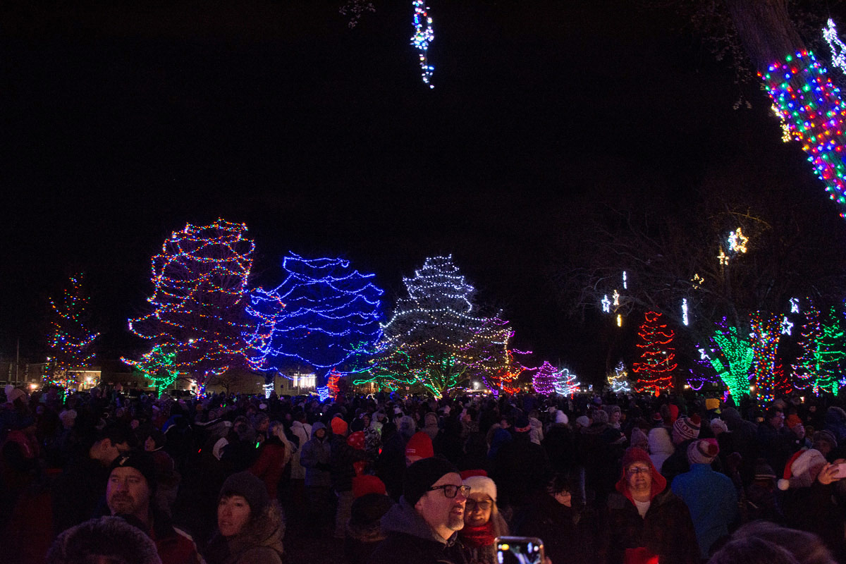 Victoria Park - Crowd and Lights
