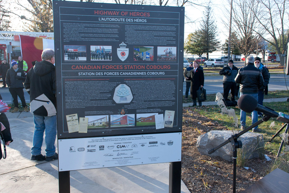LAV III Memorial - sign