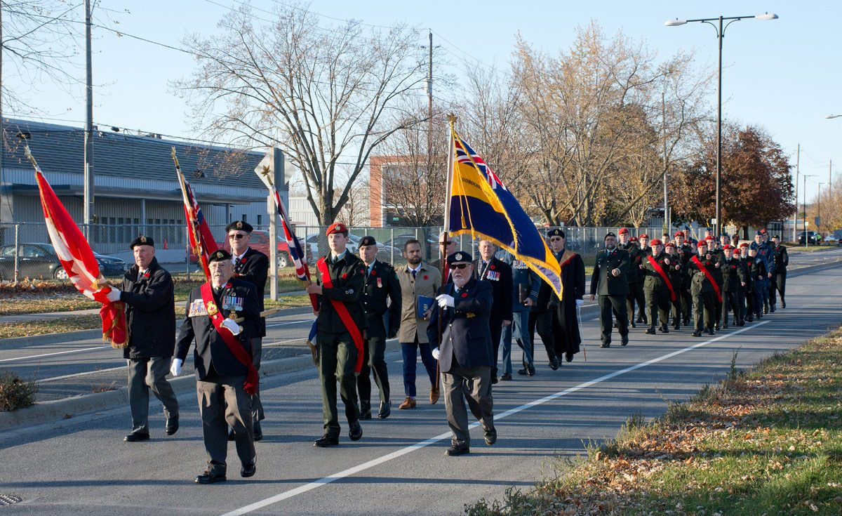Legion Escorting Ceremony Speakers
