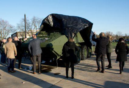 LAV III Memorial Unveiling