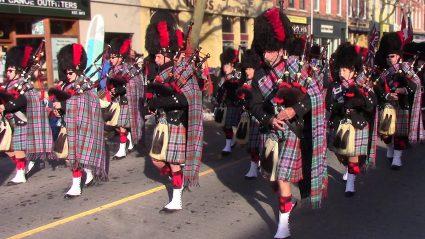 Santa Parade Legion Pipes