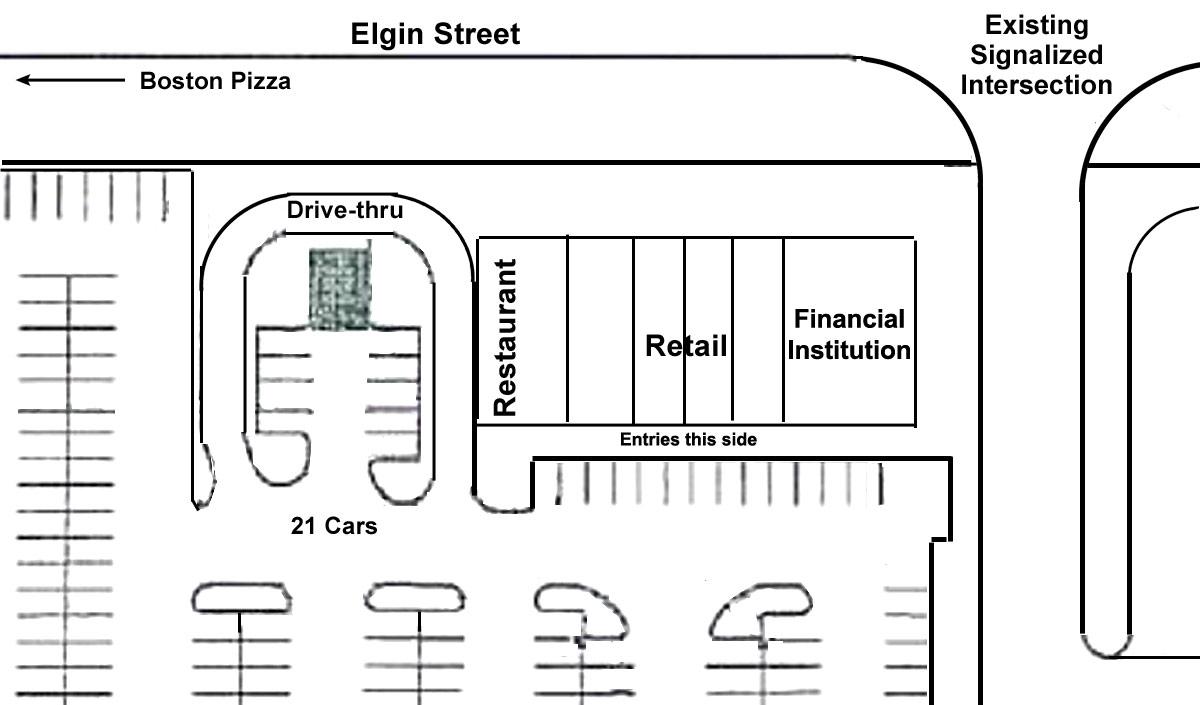 Mall Strip Plaza