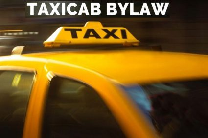 Taxi-cab-bylaw