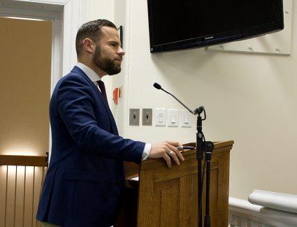 MPP David Piccini at Council