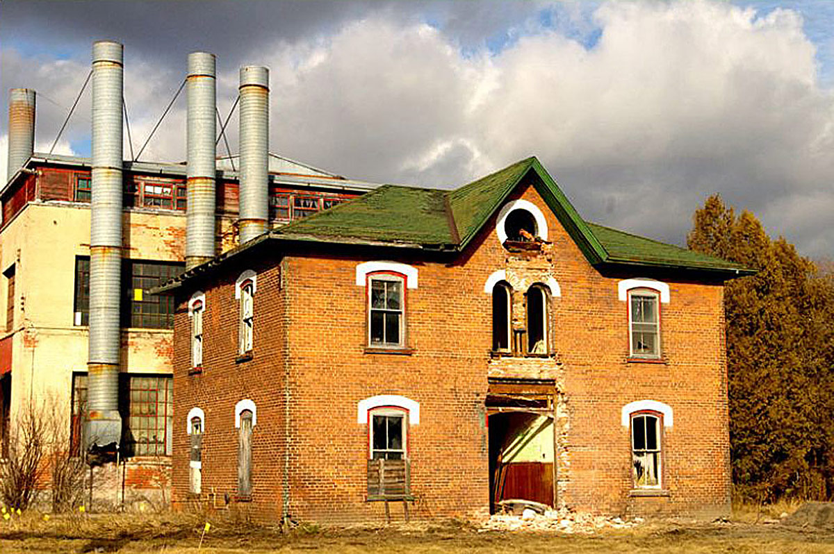 Old Tannery Factory - Before Demolition