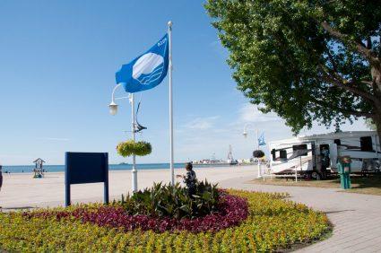 Cobourg's Blue Flag Beach