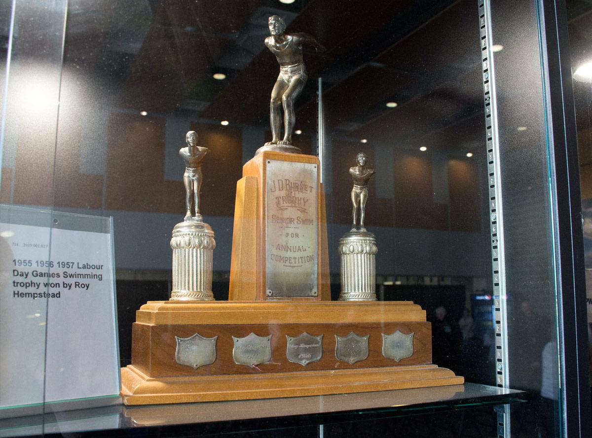Roy Hemptead's Swimming Trophy