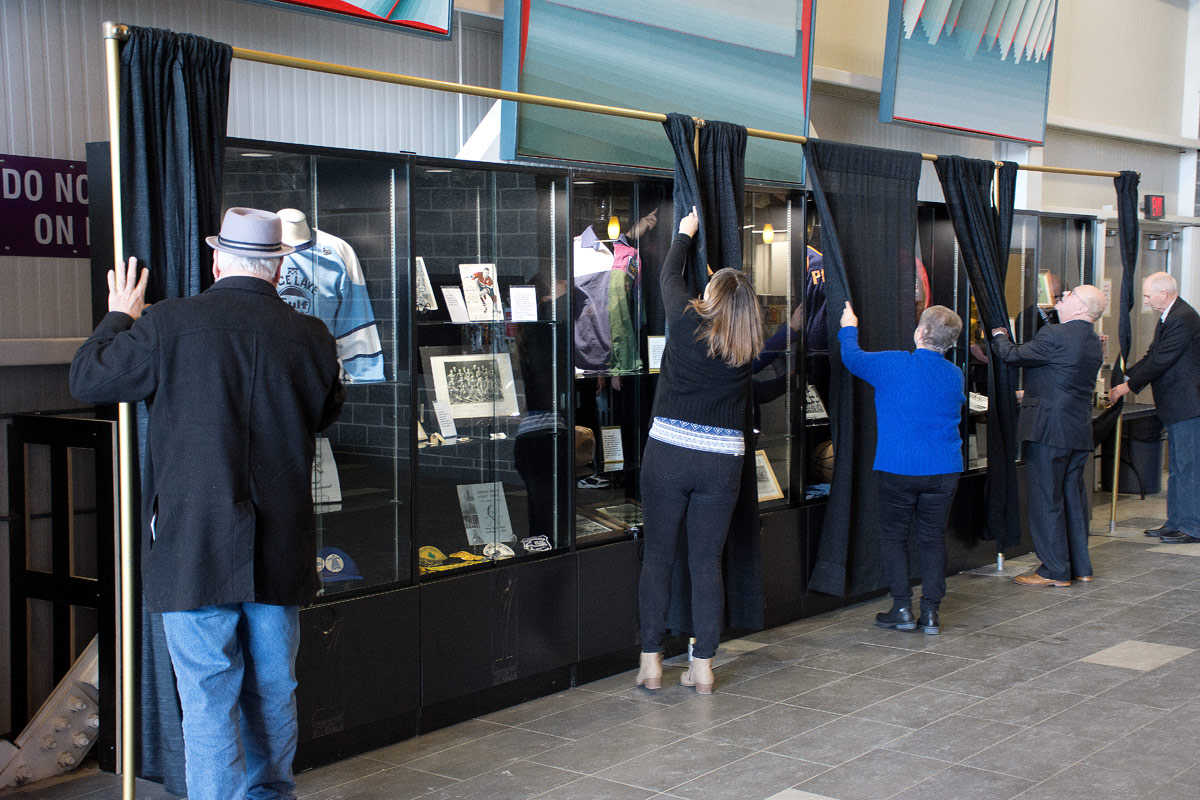 Unveiling more display cases at CCC
