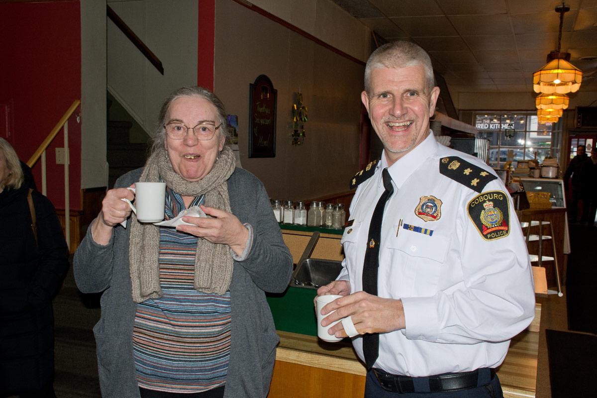 Police Chief Paul Vandegraaf at Dutch Oven