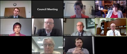 Online Council Meeting