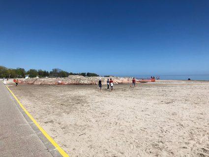 Cobourg Beach Sat May 23
