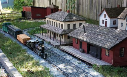 Model Railway at Sifton-Cook Museum
