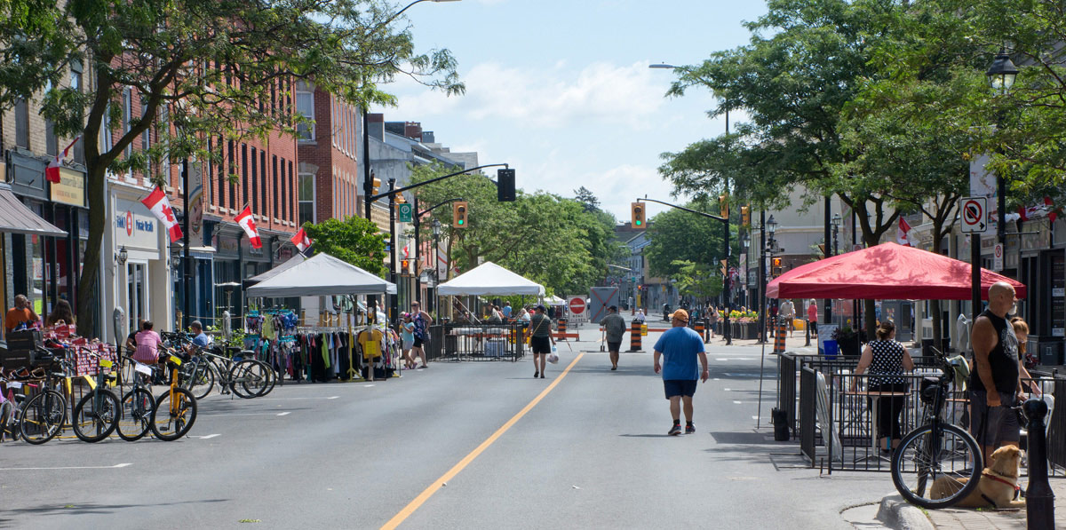 Welcome Back to Downtown Cobourg - Day 1