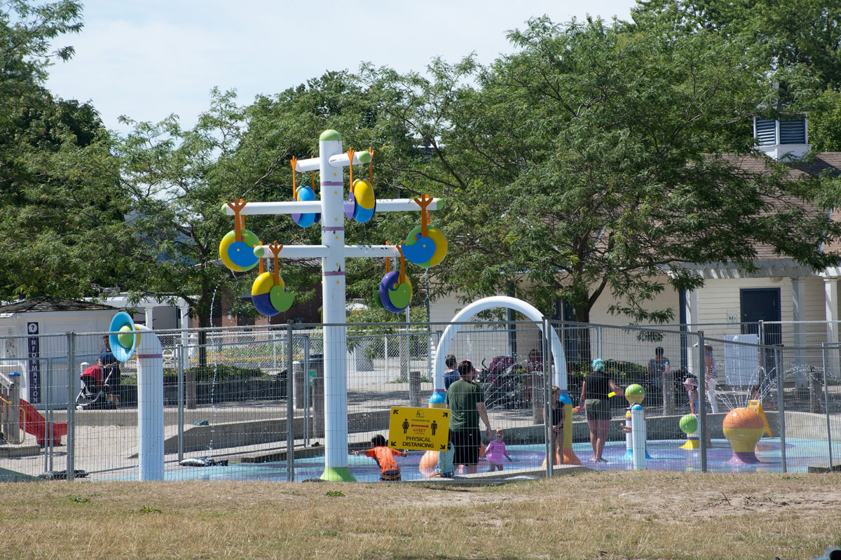 Splashpad is open