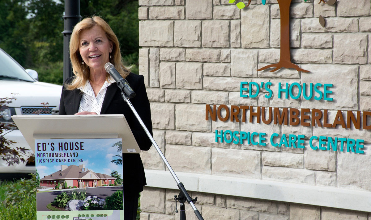 Ed's House - Christine Elliott - Health Minister and Deputy Premier