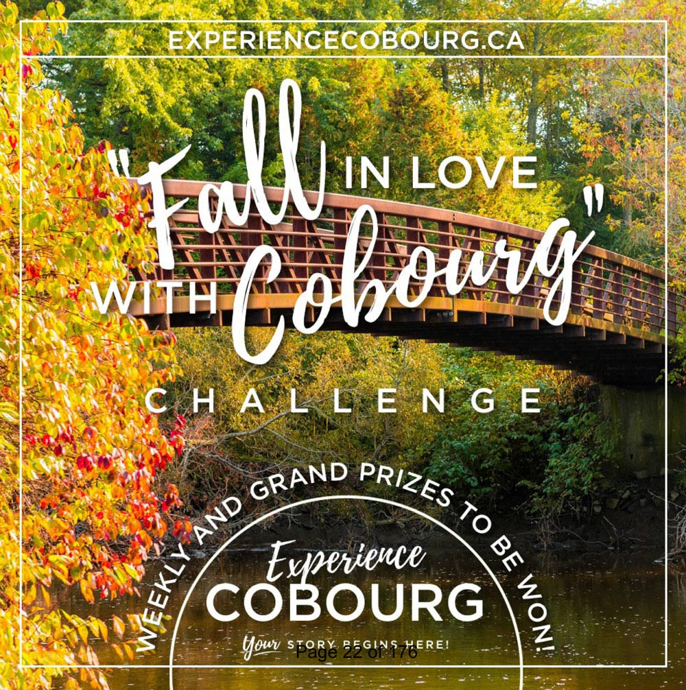 Fall in love with Cobourg poster