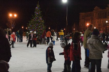 Rink opening - December 2008