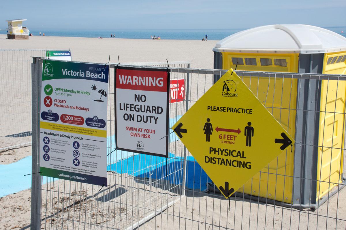 Beach - Entrance - 1 June 2021