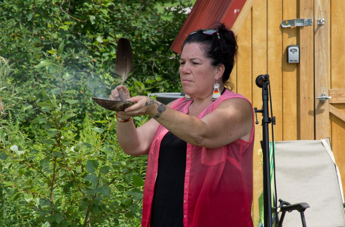 Julie Bothwell - indigenous ceremony