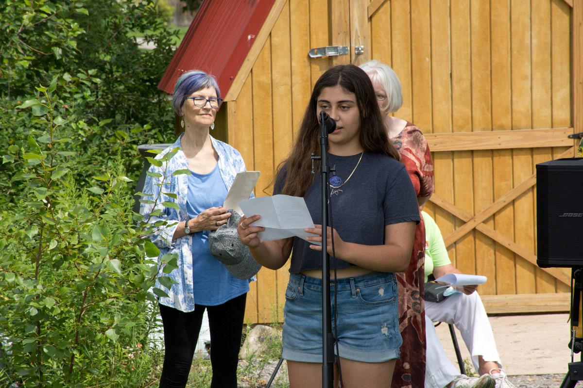 Katia Legakis - Student Poetry Contest Winner