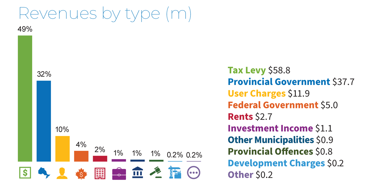 Revenues by Type