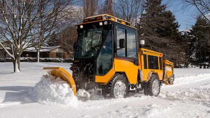 Trackless Snowplow